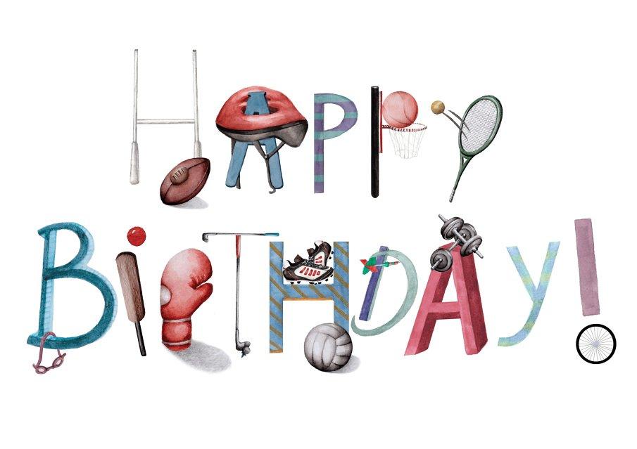 Днем, картинки с днем рождения спортсмену