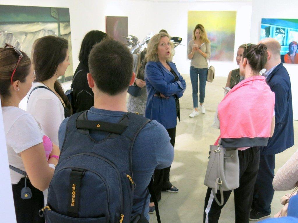 Мэг Маджио в галерее Pékin Fine Arts