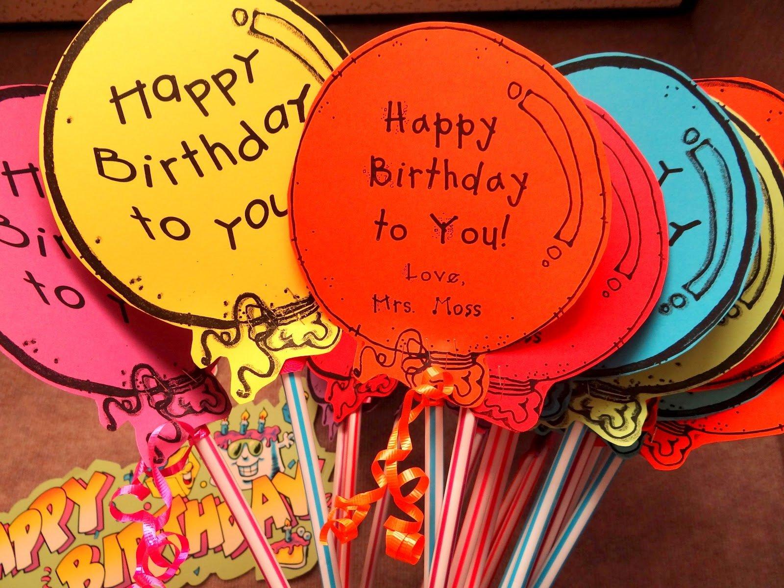 Идеи для креативного поздравления с днем рождения