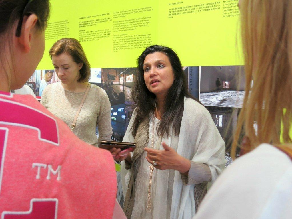 Суханья Раффел в M+ Pavilion
