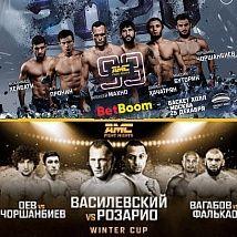 Стажировка на Fight Nights Global Winters Cup и AMC Fight Nights Global 99