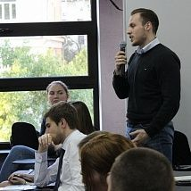 Master class by the Vice-President of FC Spartak Moscow Nail Izmailov